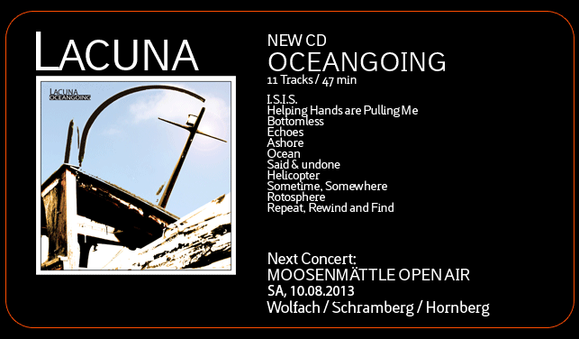 CD Release Oceangoing